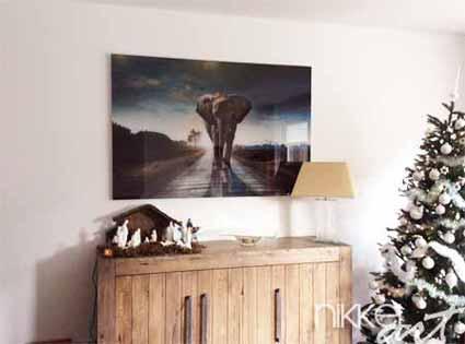 foto op plexiglas met 30 korting nikkel art. Black Bedroom Furniture Sets. Home Design Ideas