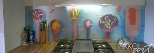 Glaswand Keuken Bestellen : Keuken foto achterwand met 20% KORTING! – Nikkel-Art