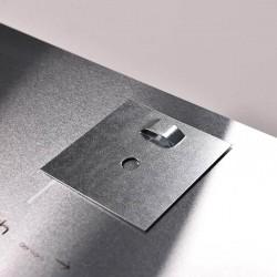 Metalen kleefplaatjes (75 x 75 mm)