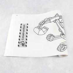 Tekenrol bouwmachines