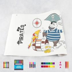 Tekenrol piraten