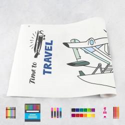 Tekenrol vliegtuigen 2