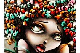 Gezicht Graffiti