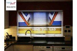Fotorolgordijn Londen metro