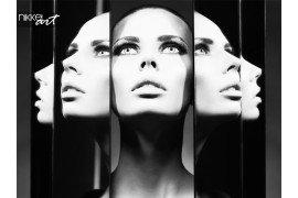 Vrouw en spiegels