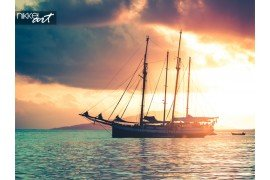 Recreatieve jacht op de Indische Oceaan