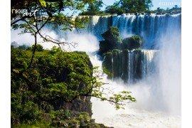 Cascade van watervallen