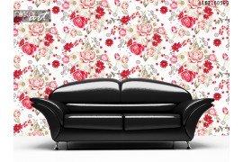 Bleke kleur abstract steeg naadloze bloemenpatroon