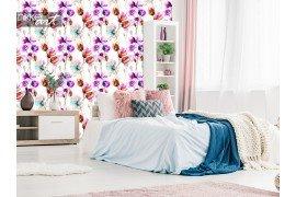 Fotobehang met gestileerde bloemen