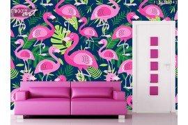 Fotobehang Flamingo