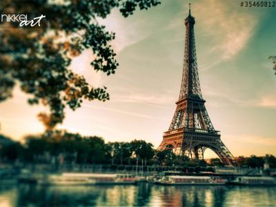 Keuken foto achterwand  Parijs Eiffel Tower, Frankrijk