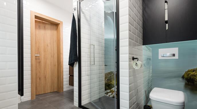 Foto achterwand badkamer