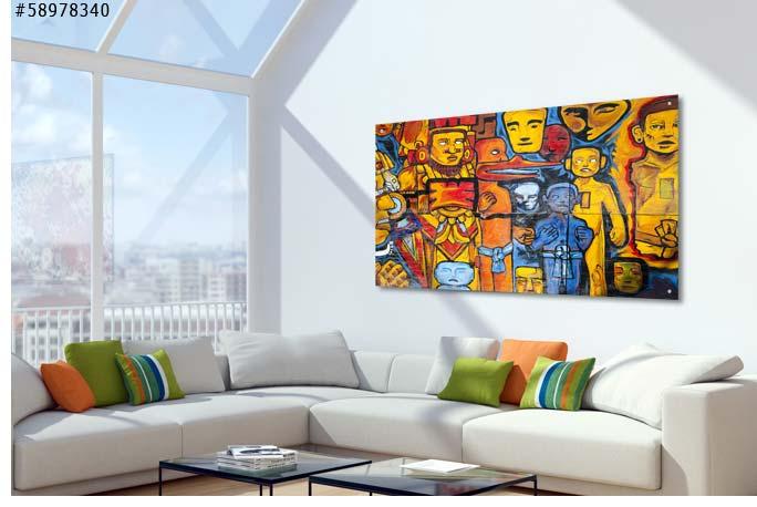 Schilderijen op glas