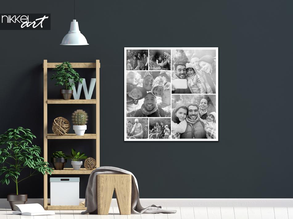 Fotocollage op Plexiglas