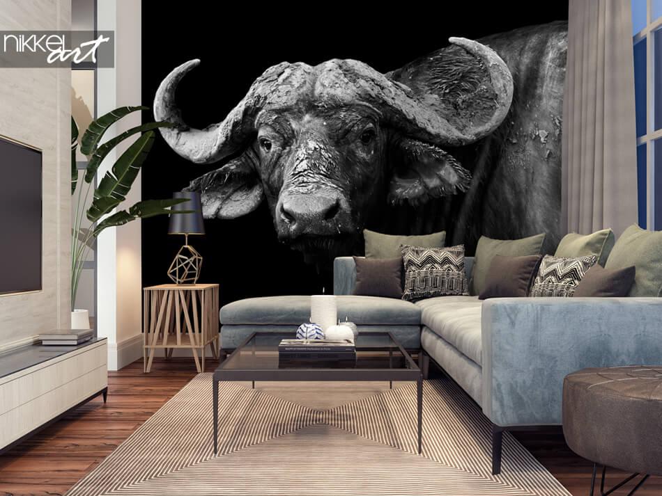 Fotobehang Buffel