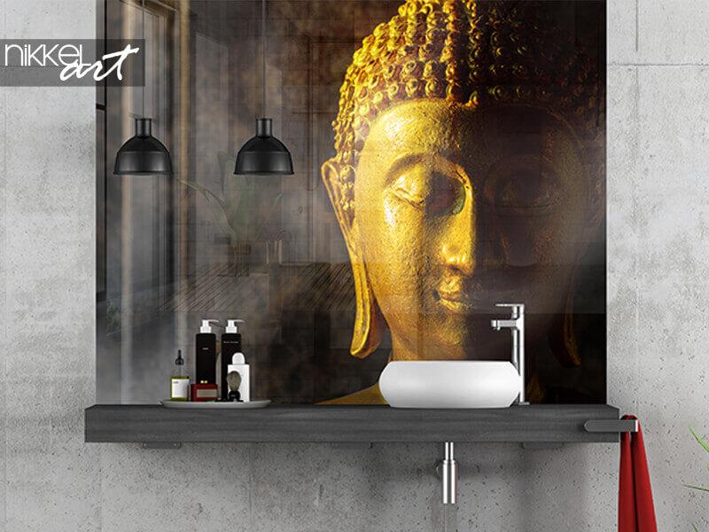 Badkamer foto achterwand Thaise boeddha
