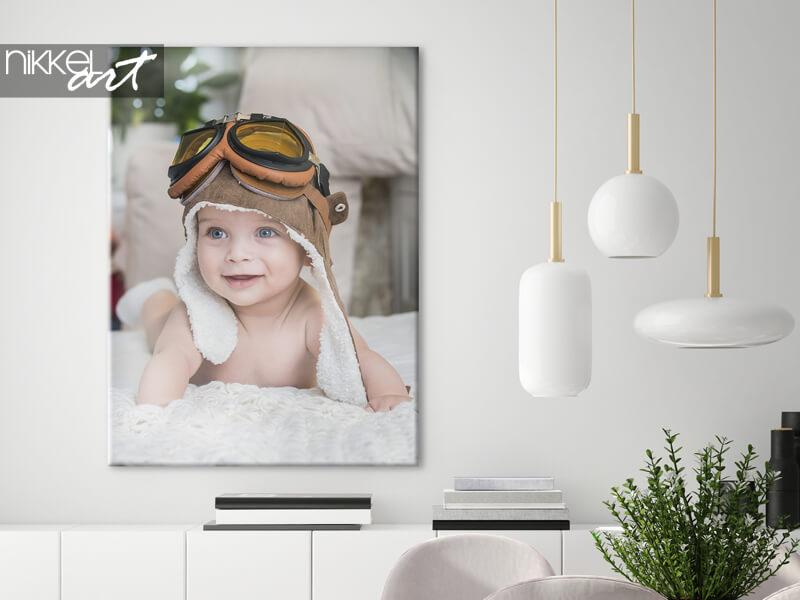 Jouw babyfoto's op canvas