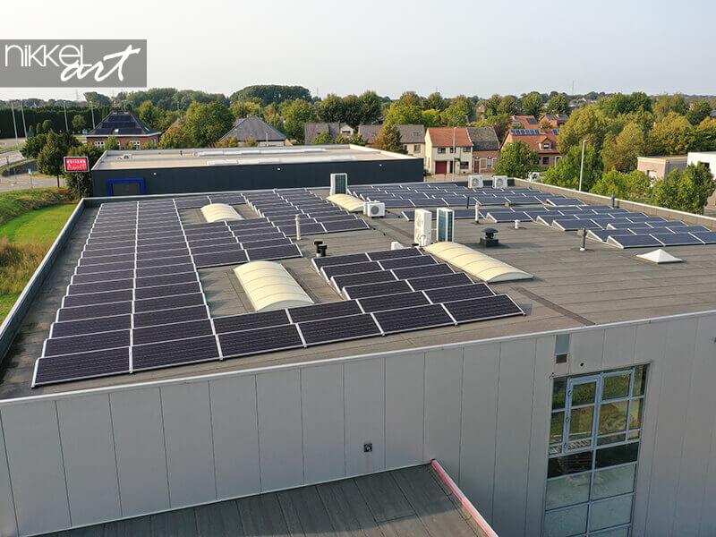 Zonnepanelen op ons dak