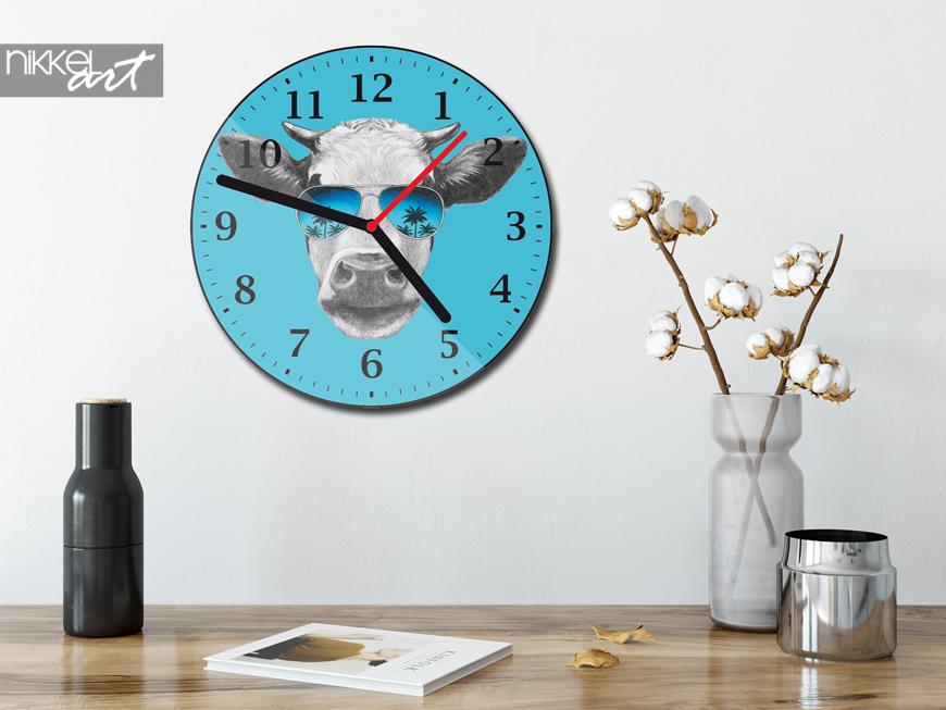 plexiglas klok met foto