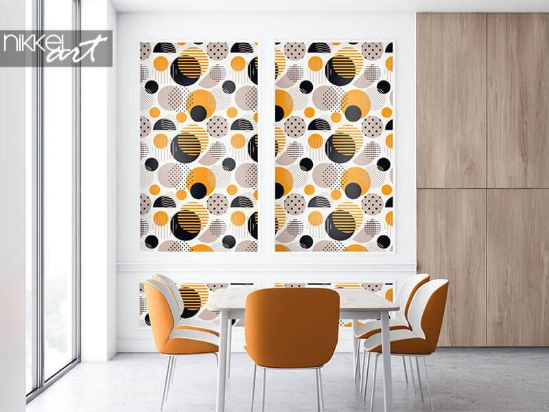 Polka dot behang op maat van jouw interieur