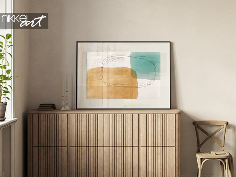 Decoratietrend: minimalistische posters