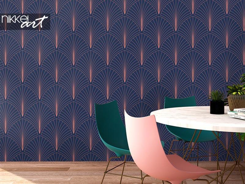 Art deco behang: breng grandeur in je interieur