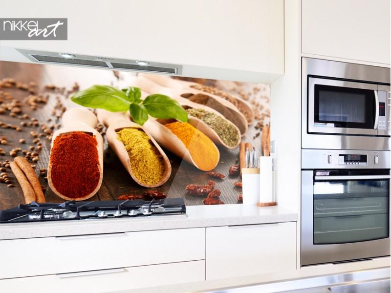 De keuken foto achterwand versus wandtegels