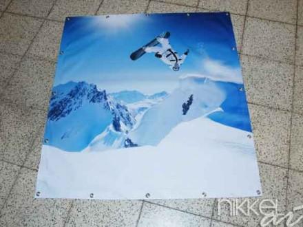 Foto op Tuinposter Wintersporten