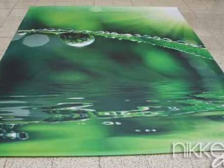 Foto op Tuinposter Waterdruppels