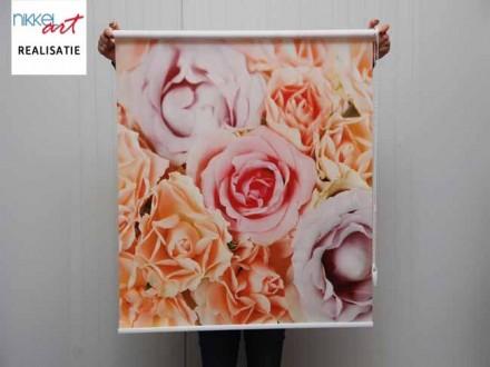 Fotorolgordijn Roses
