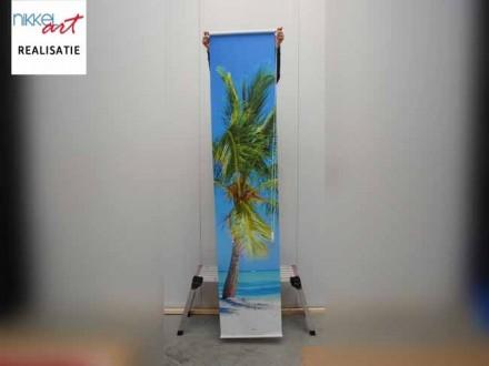 Fotorolgordijn Tropical strand