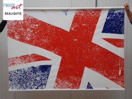 Fotorolgordijn Union Jack vlag