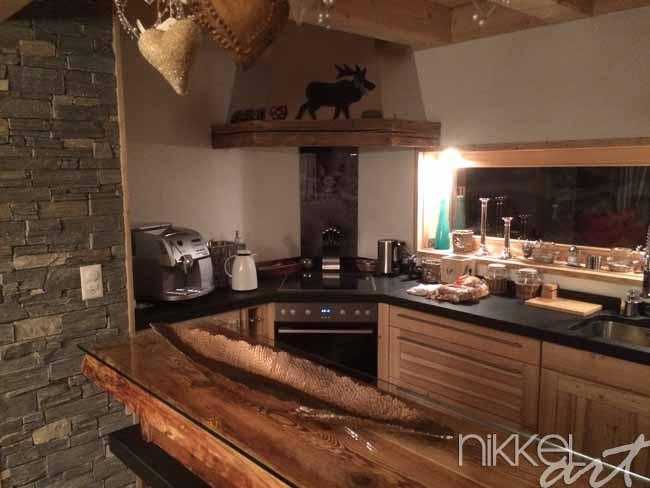 Keuken foto achterwand ree