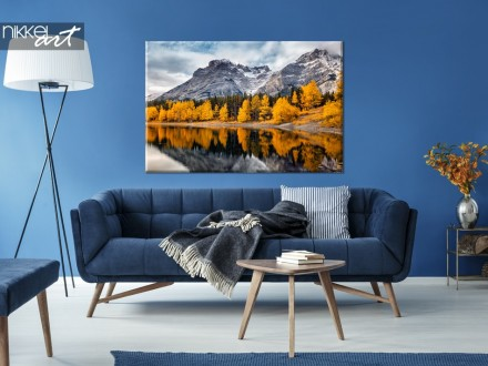 Canvas met Foto Banff National Park