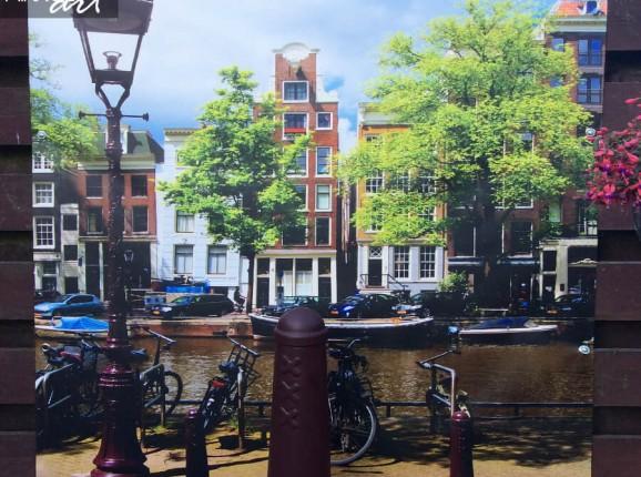 Foto tuinposter Amsterdam