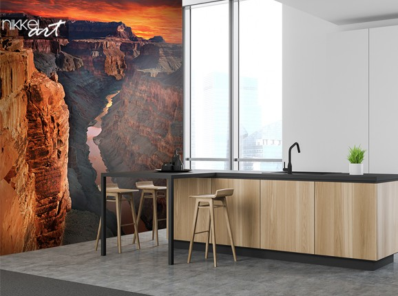 The Grand Canyon op fotobehang