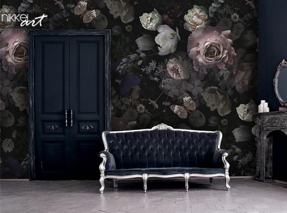 Fotobehang met rozen