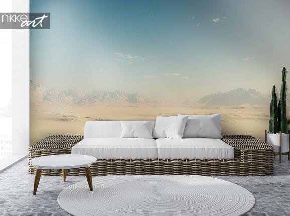 Woestijnlandschap op fotobehang