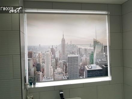 Fotorolgordijn New York