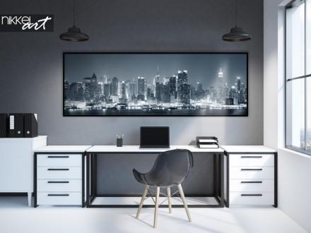 Kantoor met Poster Panorama Foto