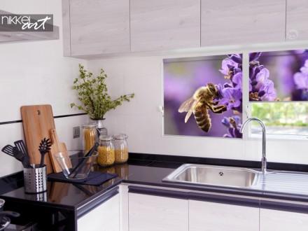 Kleurrijk Fotorolgordijn voor in de Keuken
