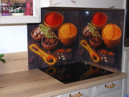 Keuken foto achterwand Kruiden