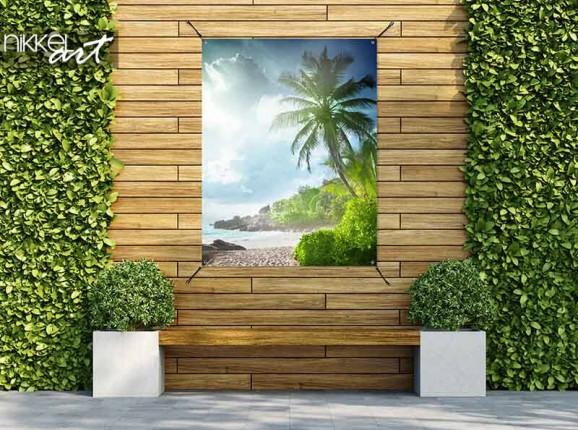 Tuinposter de Seychellen