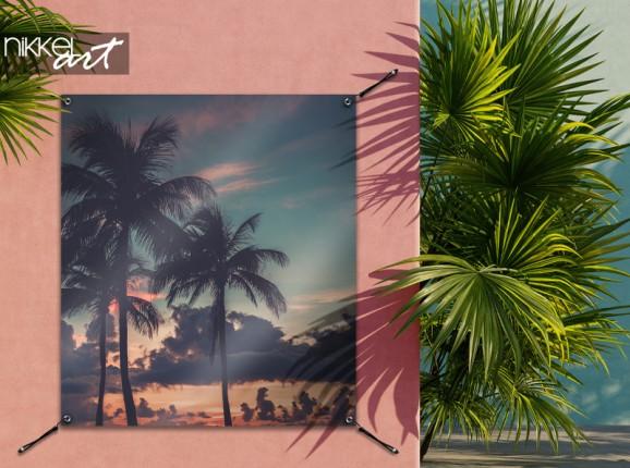 Tuinposter Miami Beach