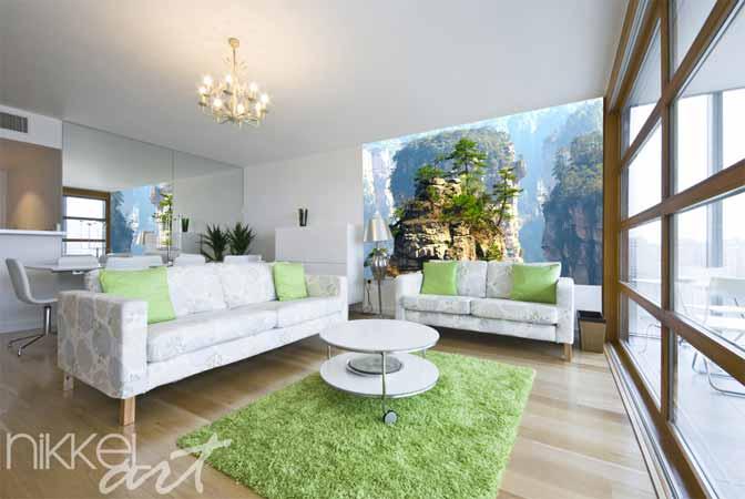 Fotobehang voor woonkamer for Decoratie eetkamer