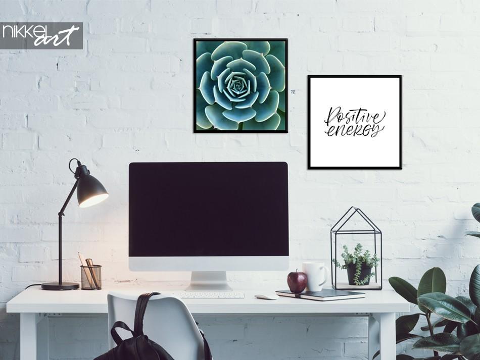 Studiekamer met Poster Combinatie