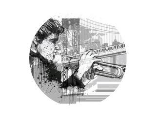 Trumpet player in New York (Brooklyn)